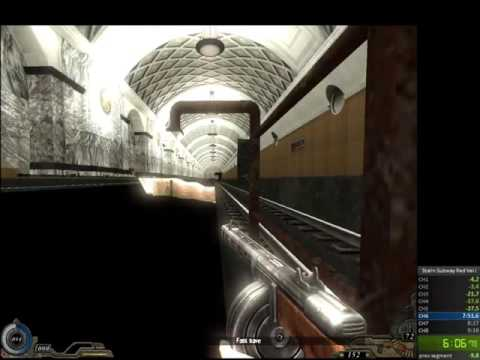 Stalin Subway: Red Veil speedrun in 7:02 (World Record)