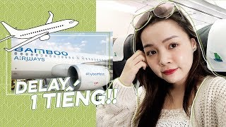 Bamboo Airways Có Thực Sự Tốt Không? ♡ Lần Đầu Bay Bamboo Airways ♡ TrinhPham