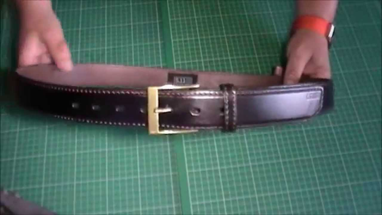 5 11 tactical casual 1 5 quot leather belt