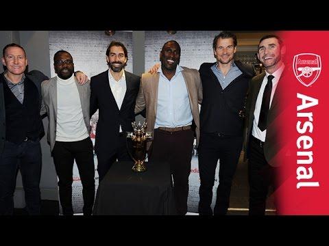 Arsenal legends attend