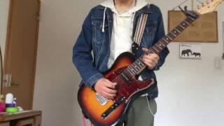 映像と音源は別撮りです。 ギターは3パートほど弾いていて、その中のメ...