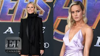 Gwyneth Paltrow, Brie Larson Step Out For 'Avengers: Endgame' Premiere