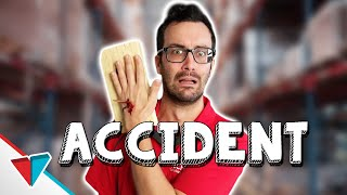 When you injure yourself at work - Accident Report