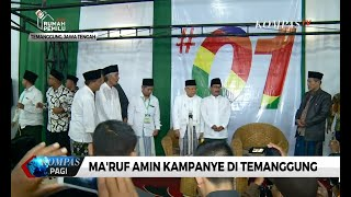 Download Video Ma'ruf Amin Optimis Menang di Wilayah Temanggung MP3 3GP MP4