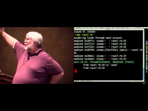 Ruby Conference 2008 - What All Rubyists Should Know About Threads