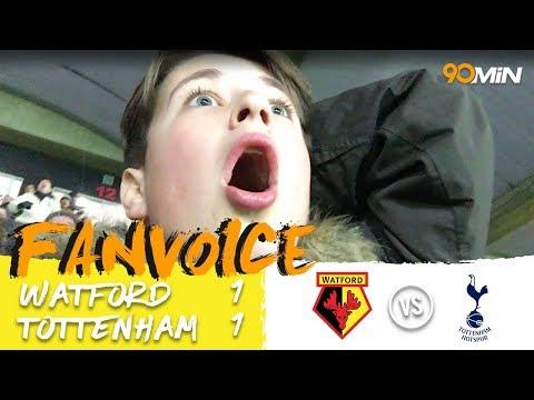 Watford 1-1 Tottenham   Spurs drop points as Kabasele & Son goals mean a draw vs Watford   FanVoice