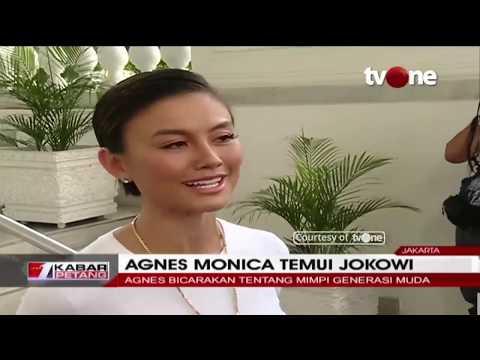 Agnes Monica Bertemu Presiden Jokowi Di Istana Negara