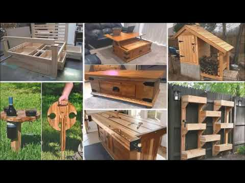 free-woodworking-plans-&-diy-wood-project-ideas---2020-edition!