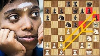 Praggnanandhaa Plays A Perfect Game Against A 2600+ GM Jorden Van Foreest