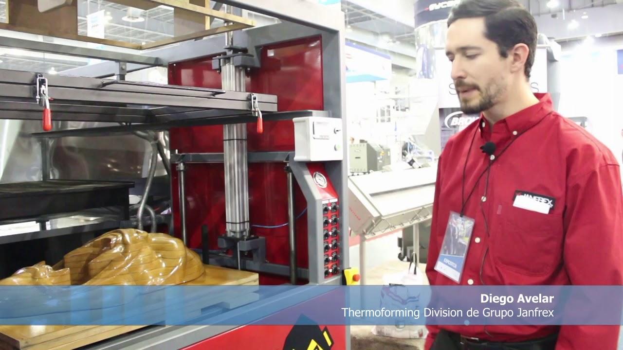Grupo Janfrex mostró diversas soluciones en Plastimagen