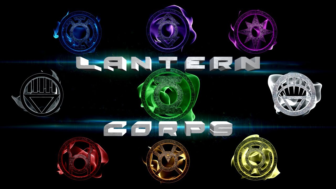 3d Wallpaper Parallax Free Lantern Corps Youtube