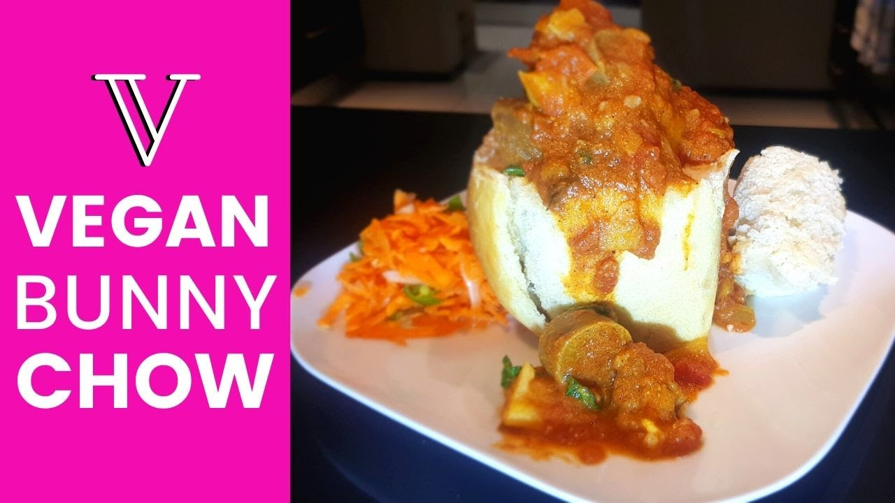 Vegan South African BUNNY CHOW | Easy VEGAN Recipes for beginners