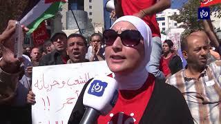 """مسيرة رافضة لاتفاقية الغاز.. """"غاز العدو مذلة"""" - (29-9-2017)"""