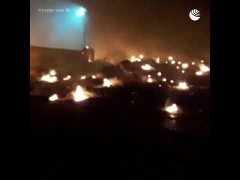 Украинский самолет потерпел крушение в Иране