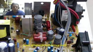 LG 21FU9RL Quema transistor horizontal - Solución -