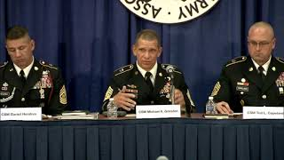 AUSA 2018 CMF 5, Army Total Force – Readiness and Lethality Focused
