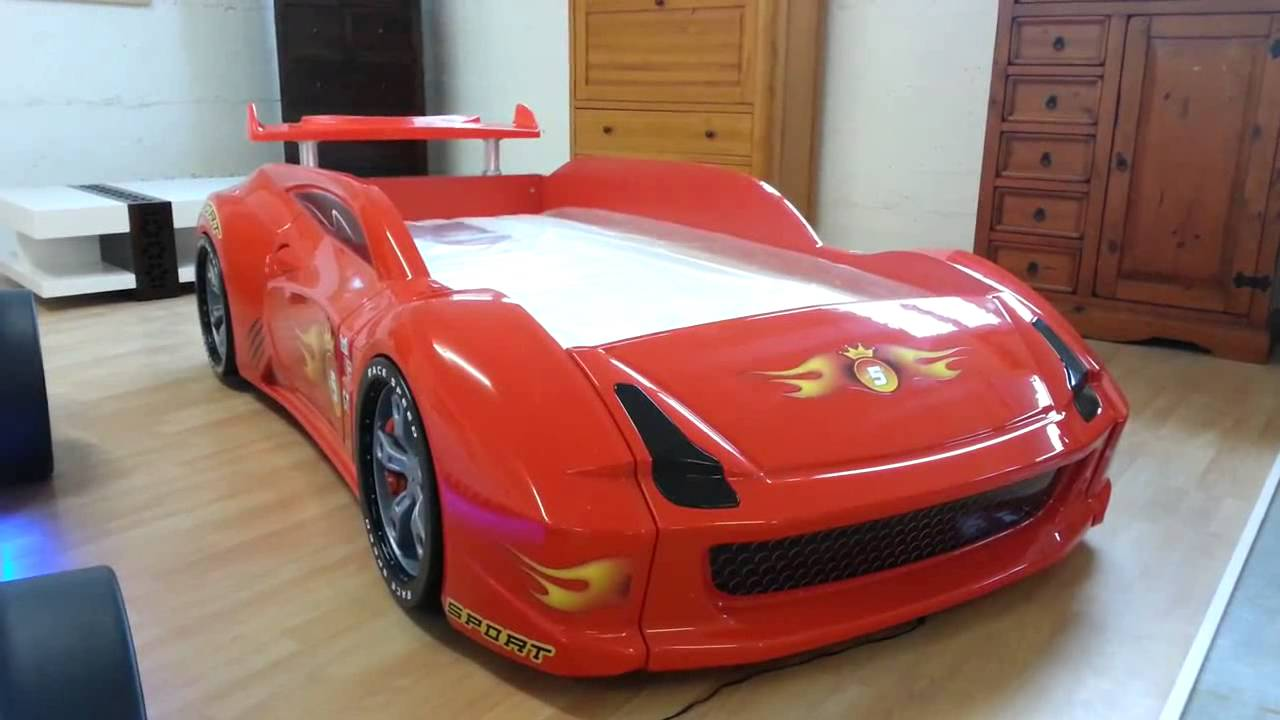 Cars Kinderbett Lamborghini Car Bed Kinderbett Supercarbeds - Youtube