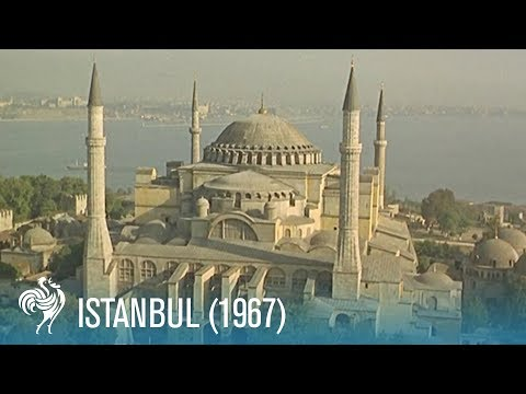 A Travel Guide to Istanbul in the Sixties: The Mystery City of Mosques (1967) | British Pathé