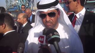 Sultan Al Jaber declares support for Egypt in the United Arab Emirates in the new Suez Cana