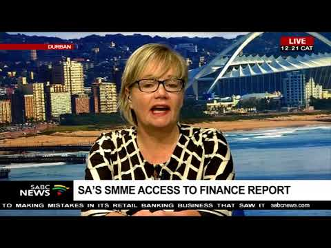 SA's SMME access to finance report