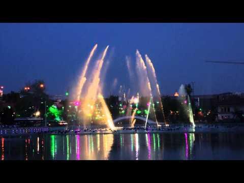 Ankara's music fountains