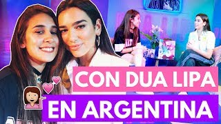 ENTREVISTA DUA LIPA EN ARGENTINA | Fashion Diaries