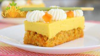 Pastel de Zanahoria 🥕 con Gelatina de Mango