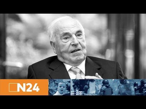 N24 Nachrichten - Großer Europäer und Einheitskanzler - Helmut Kohl stirbt mit 87