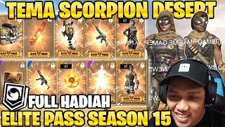 DESERT SCORPION! FULL HADIAH ELITE PASS SEASON 15 AGUSTUS! - Garena Free Fire