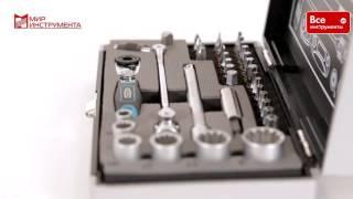 Набор бит и головок торцевых 37 предметов GROSS 11625