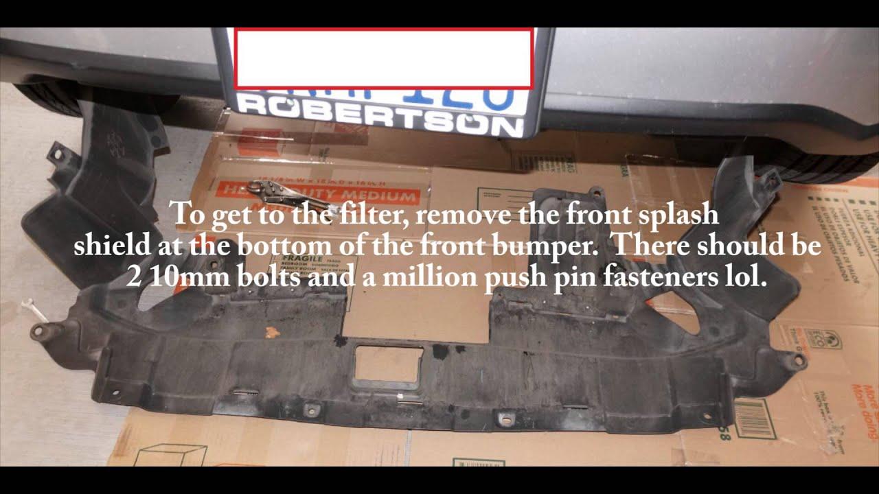 Honda Transmission Filter Location: Replacing The