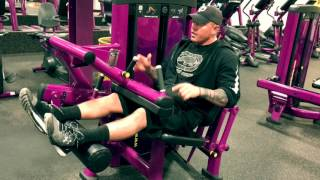 Planet Fitness - How To Use Seated Leg Curl Machine