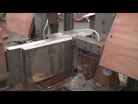OHA--H Series Duble Column Band Sawing Machine  || OHA GROUP