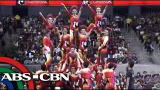 UE Pep Squad 'on fire' in UAAP cheer dance