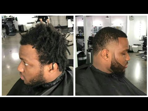 low-taper-fade-with-beard-|-cut-by-andre-junious-|-afro-haircut