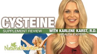 Professional Supplement Review - Cysteine