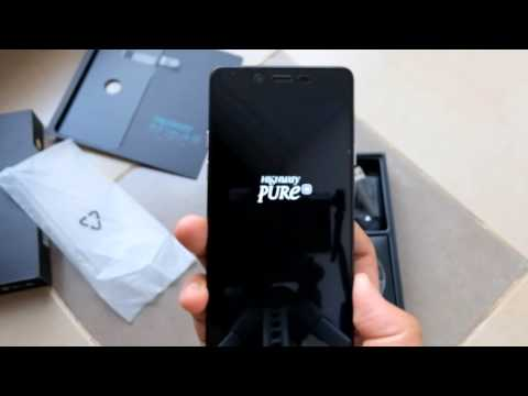 Wiko Highway Pure Unboxing Indonesia