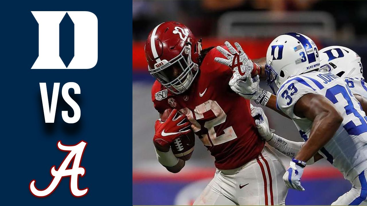 Download Duke vs #2 Alabama Highlights Week 1 College Football 2019