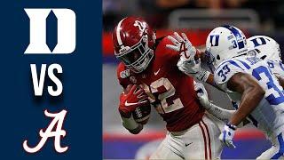 Duke vs #2 Alabama Highlights Week 1 College Football 2019