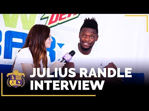 Julius Randle Interview: Lonzo Ball, Kobe Bryant, Defensive Focus, Year 4 Expectations