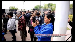 DELICIAS: DESPIDEN CON HONORES AL POLICIA VICTOR MANUEL GONZÁLEZ RIVERA