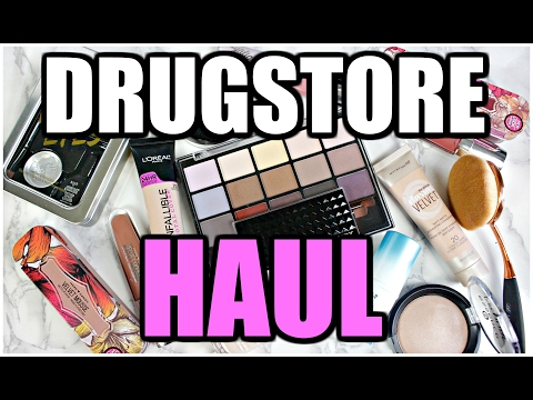 New at the Drugstore HAUL   2017