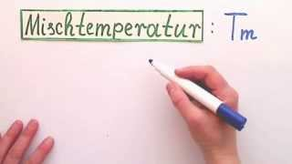 Mischtemperatur von  Stoffen verbessert