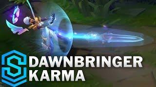 Dawnbringer Karma Skin Spotlight - Pre-Release - League of Legends