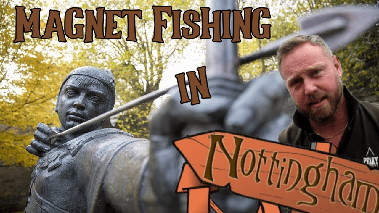 Magnet Fishing the Historic City of Nottingham
