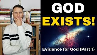 Is God REAL? - (Part 1) Argขment for the Existence of God