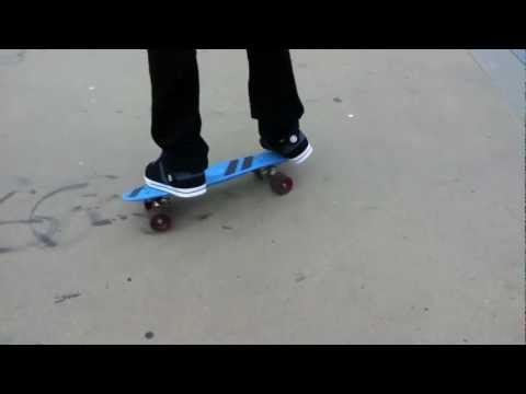 How To Do A 360 Spin On A Penny Skateboard