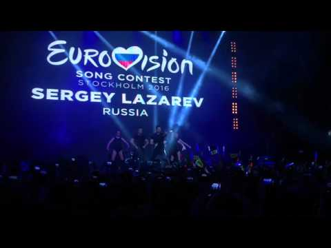 Евровидение 2016. Сергей Лазарев. You Are The Only One. Eurovision 2016