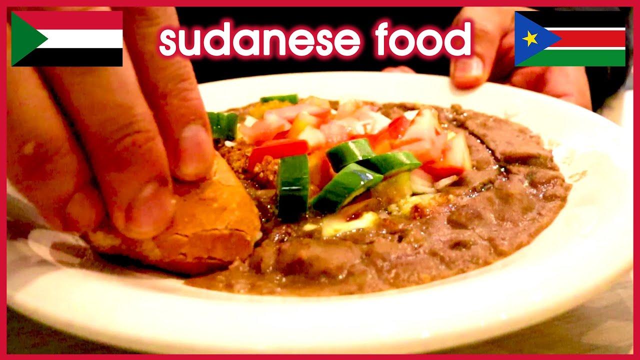 Why Is Sudanese Food Amazing Bamya Tabikh Ful Medames Hibiscus Tea Youtube