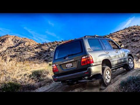 2000 Toyota Land Cruiser Testing(We Almost Got Stuck!)